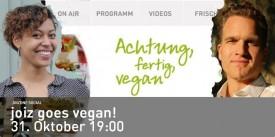 joiz TV goes vegan