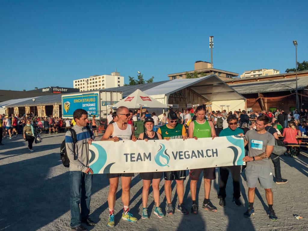 Team Vegan.ch sportlich in der Schweiz