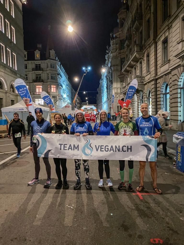 Vegan am Marathon