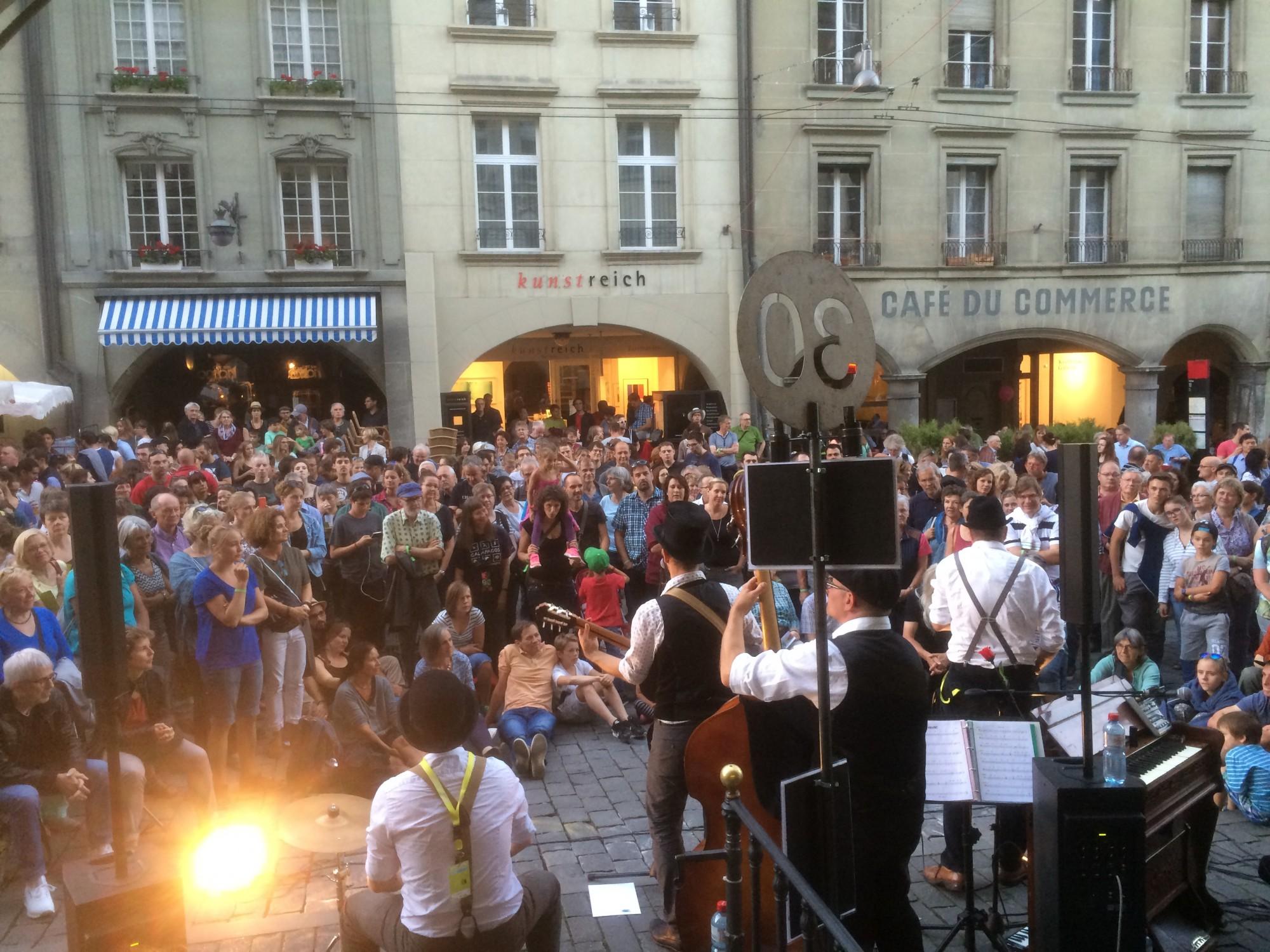 Buskers Strassenmusik-Festival