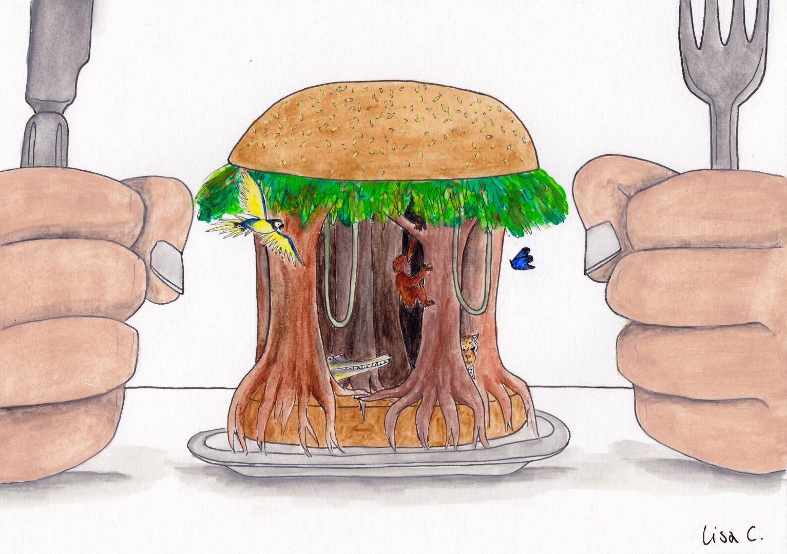 Karikaturen von Lisa Cuthbertson