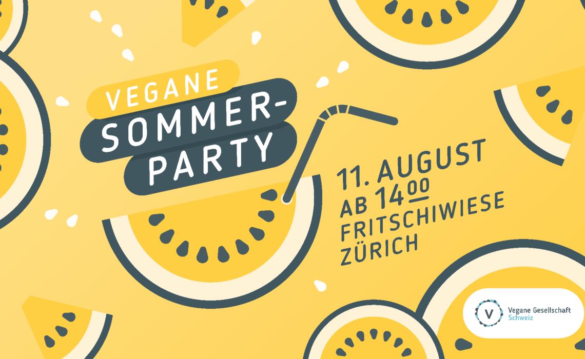 Sommerparty auf der Fritschiwiese ZH