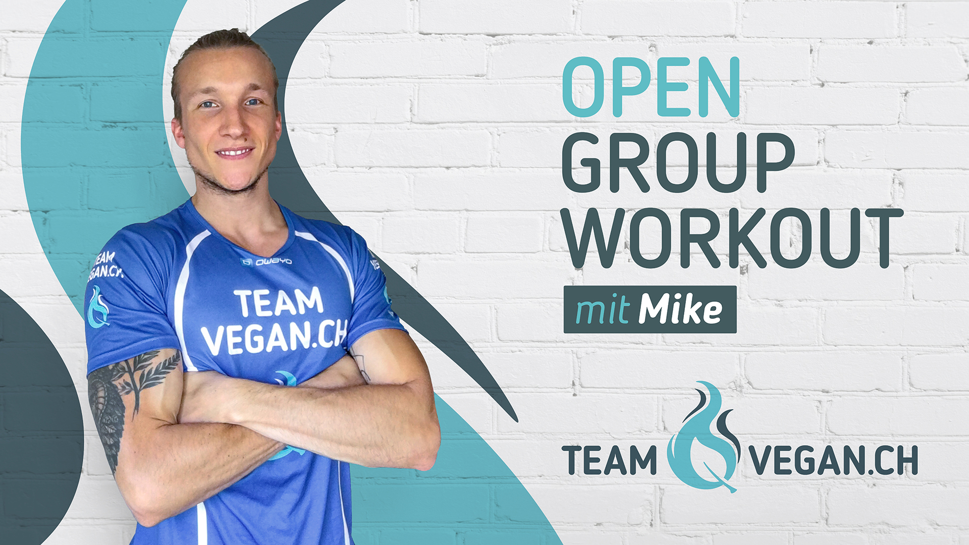 Teamvegan.ch open group workout mit Mike