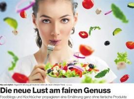 """""""Die neue Lust am fairen Genuss"""" Artikel in der BAZ"""