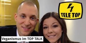 Interview über Veganismus bei Tele Top