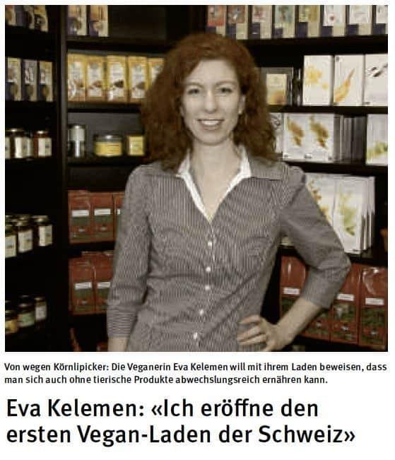 Evas Apples Artikel im Tagblatt