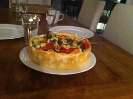 Rezept 23. November: Ellen Girods Gemüsekuchen