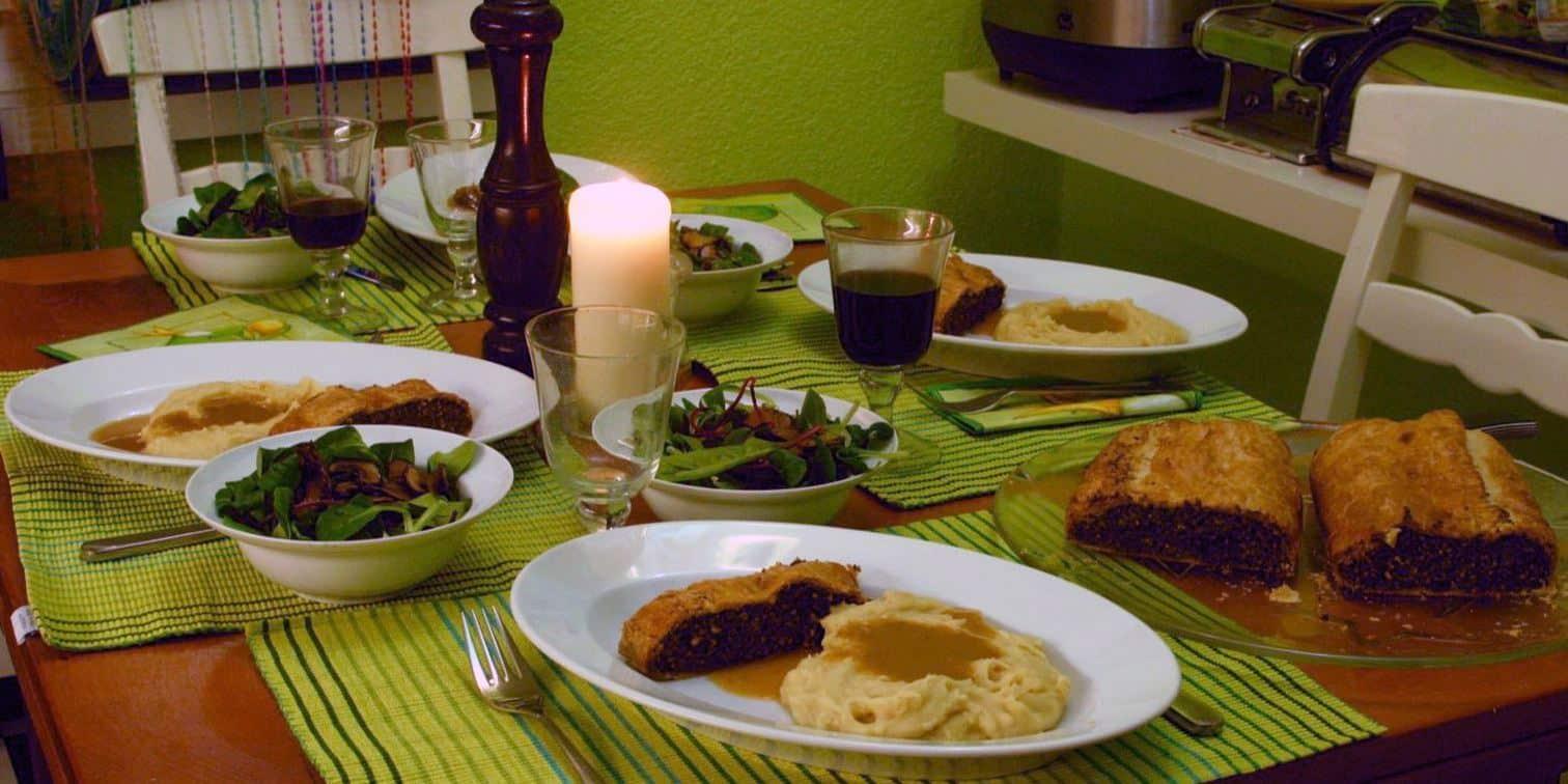 Veganes Festtags-Menü