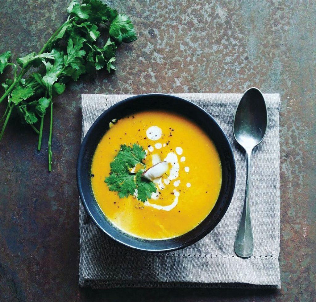 Ingwer-Kürbis-Suppe