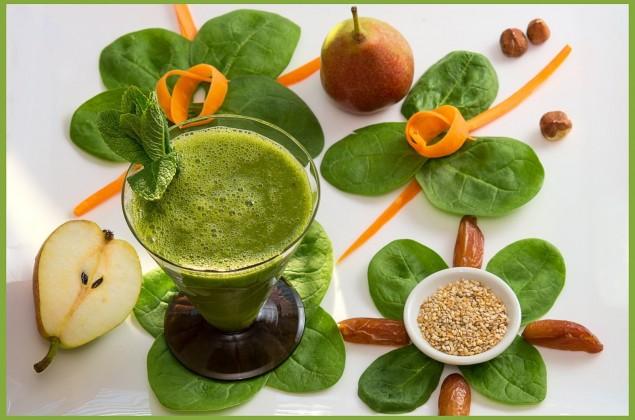 Smoothie Tipp: VeganerInnen sehen grün