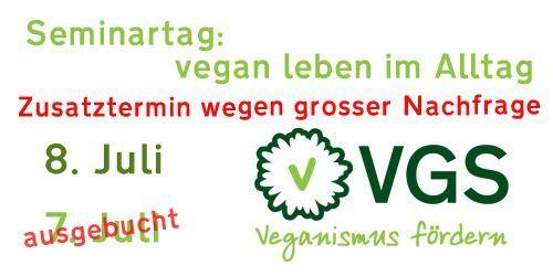 Seminartag: Vegan leben im Alltag