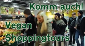 Vegan Shop­ping­tour Clip