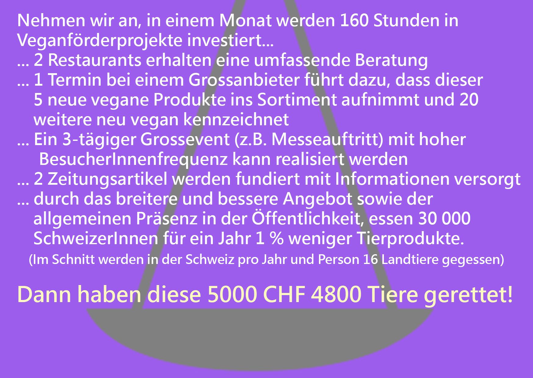 Spenden Nudging 5000 Franken Seite B