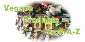 Vegane Produkte von A bis Z