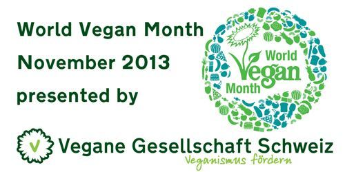 World Vegan Month – Novem­ber 2013 – mach mit!